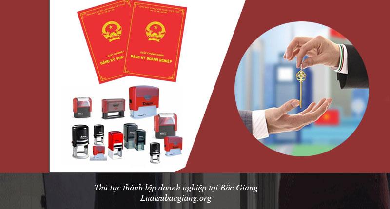 Thủ tục thành lập doanh nghiệp tại Bắc Giang