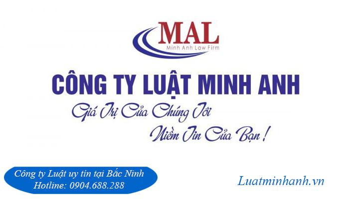 Công ty luật uy tín số 1 tại Bắc Ninh