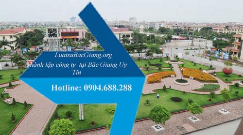 Thành lập công ty tại Bắc Giang