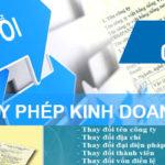 Tư vấn thay đổi giấy phép kinh doanh tại Bắc Giang