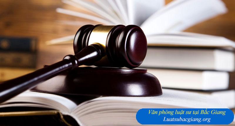Văn phòng luật sư tại Bắc Giang