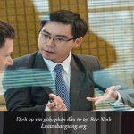 Dịch vụ xin giấy phép đầu tư tại Bắc Ninh