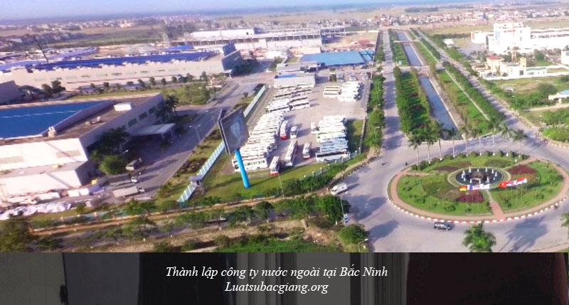 Thành lập công ty nước ngoài tại Bắc Ninh