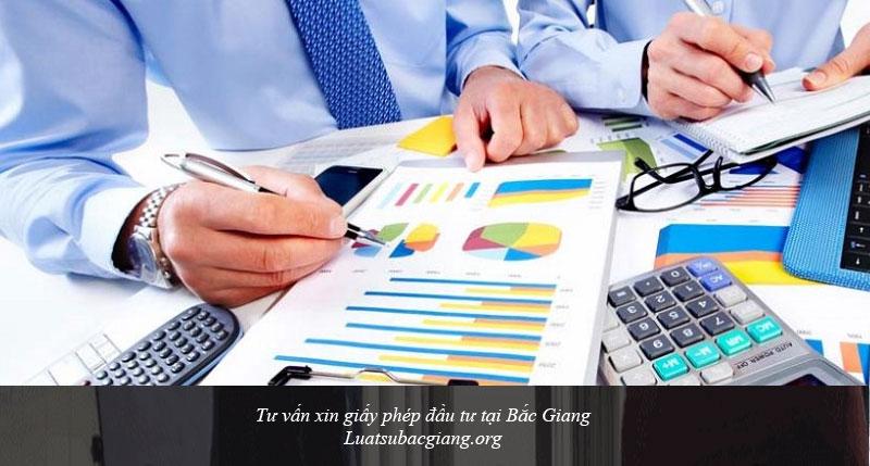 Tư vấn xin giấy phép đầu tư tại Bắc Giang