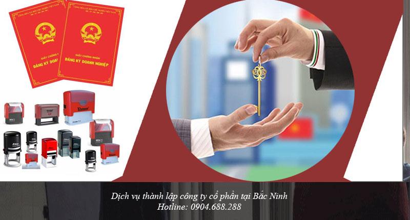 Dịch vụ thành lập công ty cổ phần tại Bắc Ninh