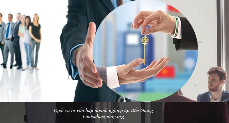 Dịch vụ tư vấn luật doanh nghiệp tại Bắc Giang