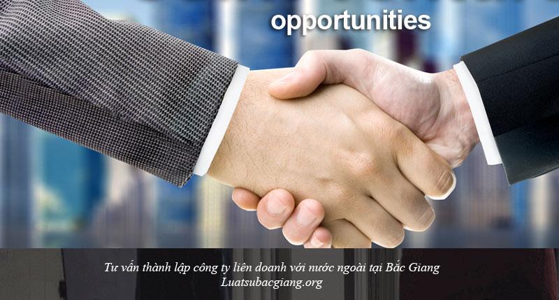 Tư vấn thành lập công ty liên doanh với nước ngoài tại Bắc Giang