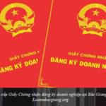Xin cấp Giấy Chứng nhận đăng ký doanh nghiệp tại Bắc Giang