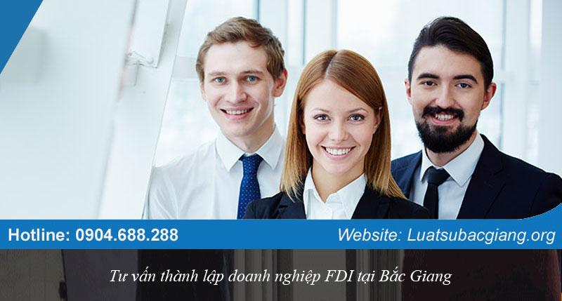 Tư vấn thành lập doanh nghiệp FDI tại Bắc Giang
